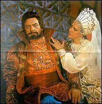 """""""Царская невеста"""". А,Савченко (Грязной), Л,Афанасьева (Любаша)"""