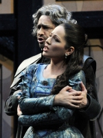 Ильдебрандо Д'Арканджело (Джорджо), Нино Мачаидзе (Эльвира). Bepi Caroli / Teatro Comunale di Bologna