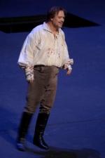 Каварадосси – Владимир Галузин. Сцена из спектакля 'Тоска' Дж.Пуччини. Оперный театр 'Бастиль' (Париж)