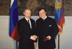 Присуждение Владимиру Галузину звания Народного артиста России