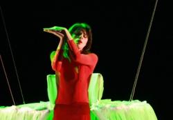 Ольга Балашова в опере 'Человеческий голос'