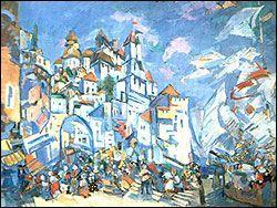 """Эскиз с """"Сказанию о невидимом граде Китеже"""" (1930)"""