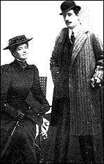 Крушельницкая и Дж.Пуччини. Фото 1908 г. Каир
