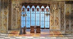 Эскиз декораций к опере 'Эрнани' в Лирик-опере (Фото Дэна Реста)