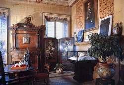 Комната в Торре дель Лаго, в которой находится посмертная маска Пуччини