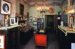 Комната с рукописями в Торре дель Лаго