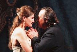 Дездемона - Наталия Тимченко, Отелло - Владимир Галузин. Концерт в Мариинском театре. 2008 год