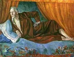 Портрет Шаляпина в роли Дон Кихота