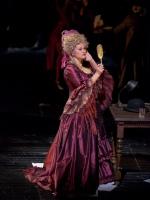 'Сказки Гофмана' в Метрополитен-опере. Джульетта - Екатерина Губанова. Фото - Кен Ховард