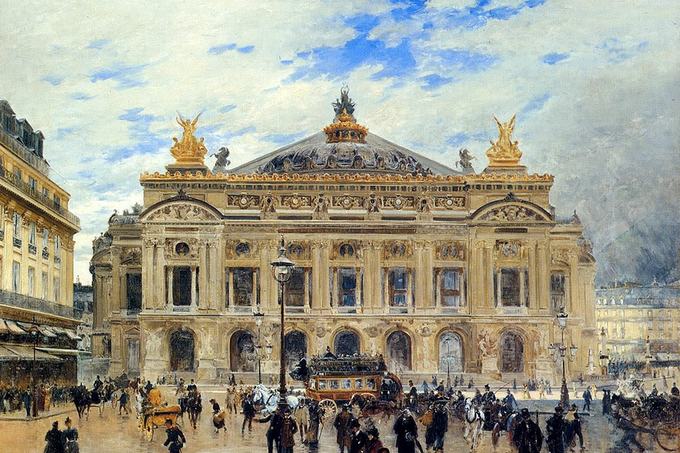 Frank Myers Boggs. Grand Opera House Paris